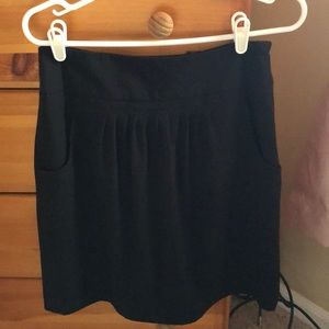 Worthington black skirt size 6